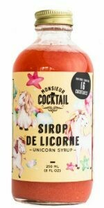 M. Cocktail - Sirop de licorne