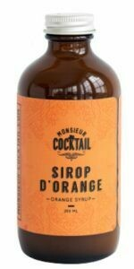 M. Cocktail - Sirop d'orange
