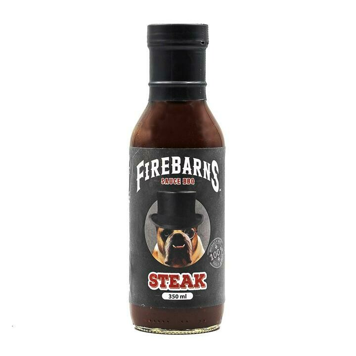 Firebarns - Sauce BBQ Steak 350ml