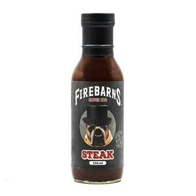 Firebarns - Sauce BBQ Steak 350ml