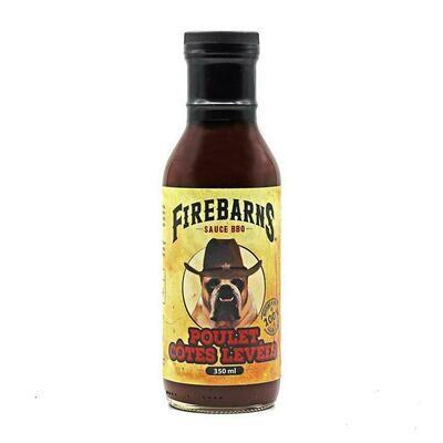Firebarns - Sauce BBQ Poulet côtes levées 350 ml