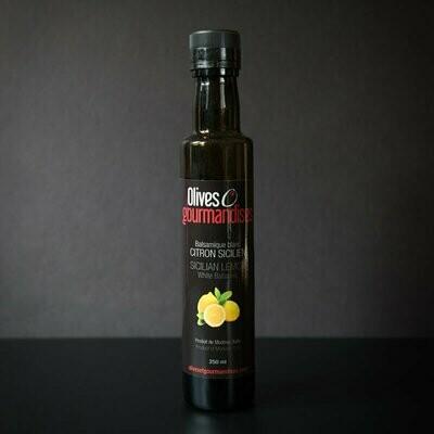 Olives et Gourmandises - Balsamique blanc au Citron sicilien
