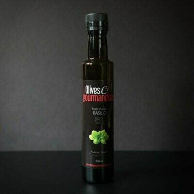 Olives et Gourmandises - Huile au Basilic