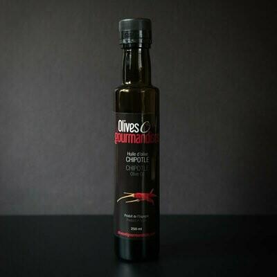 Olives et Gourmandises - Huile Piment Chipotle