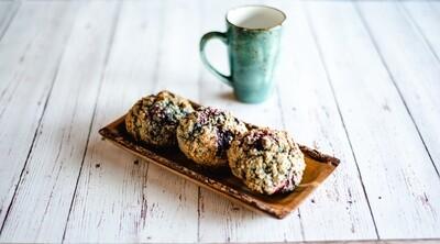 Biscuits pommes et camerises (6)