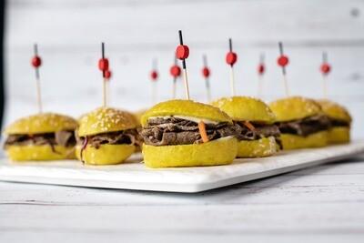 Mini-burger au boeuf