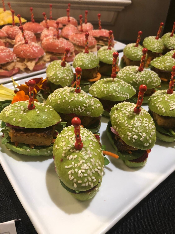 Mini-burger au végépâté