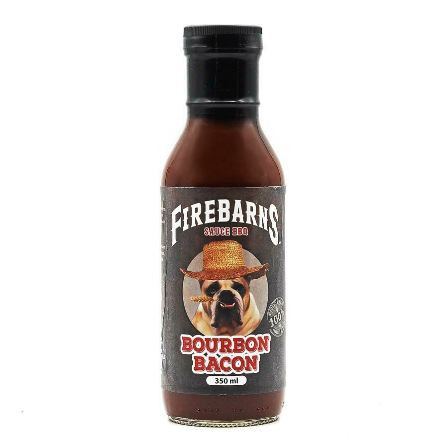 Firebarns - Sauce BBQ Bourbon Bacon 350ml