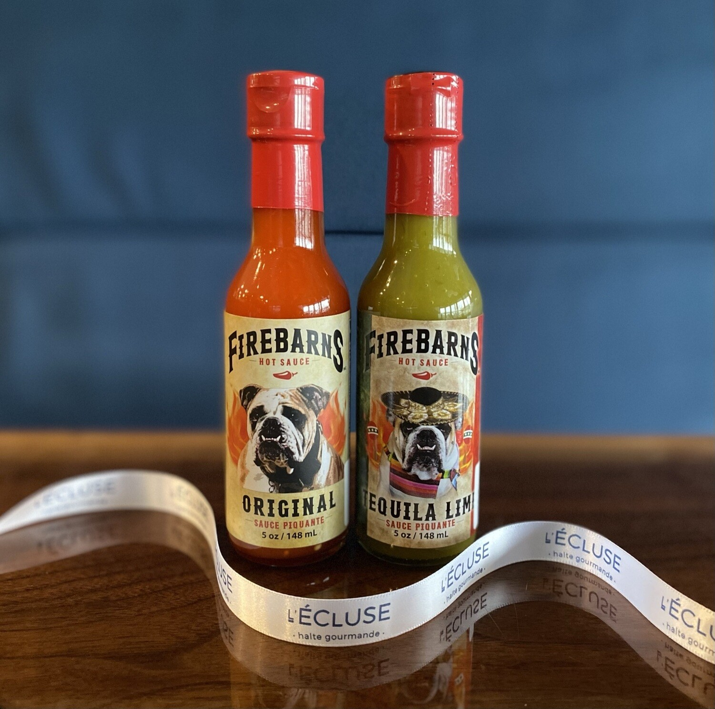 Duo de sauces Original/Tequila Lime Firebarns 148ml