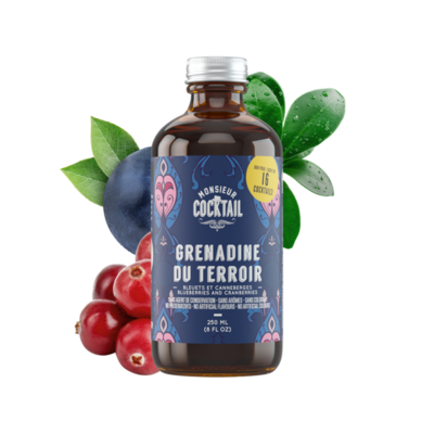 M. Cocktail Sirop Grenadine du Terroir 500ml
