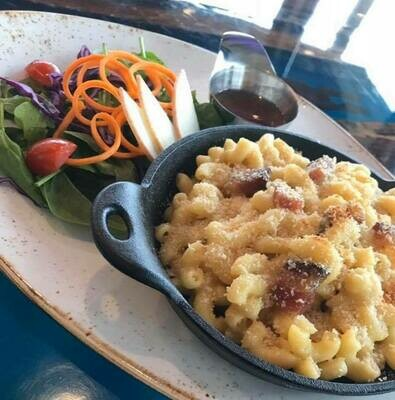 Mac & Cheese au bacon confit
