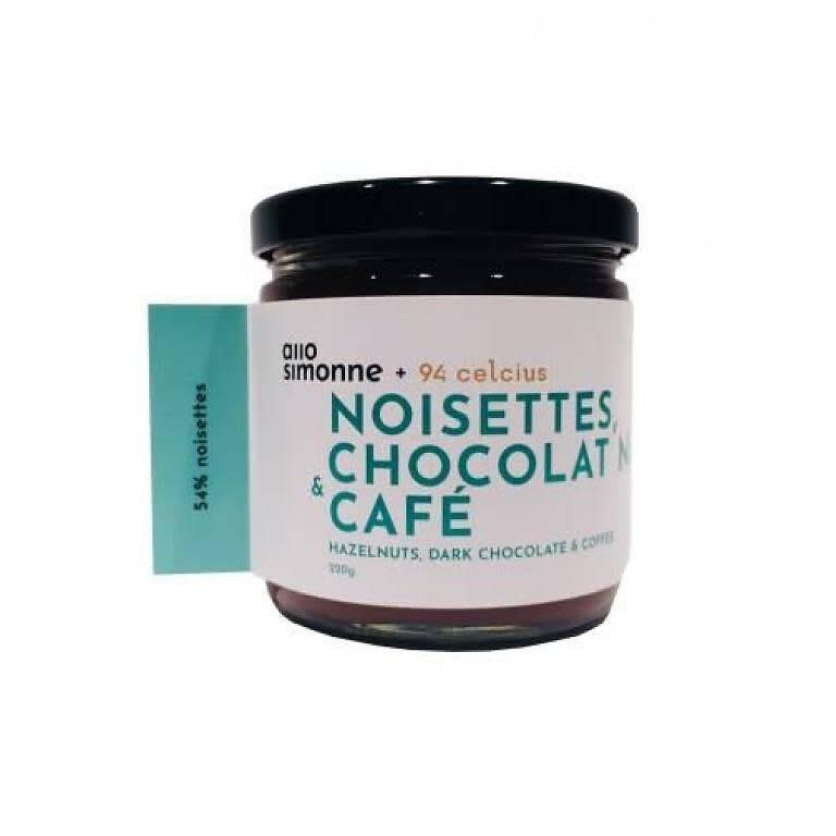 Allo Simonne - Tartinade chocolat noir et café