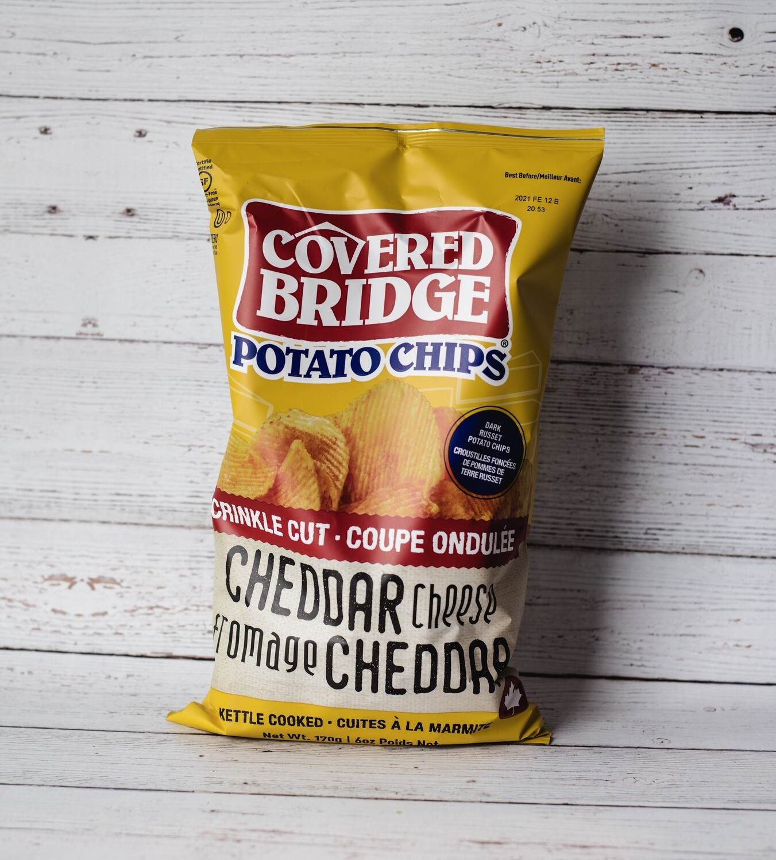 Chips Cheddar Covered Bridge 170g