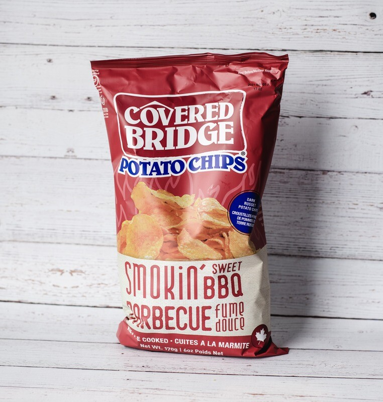 Chips BBQ Covered Bridge 170g