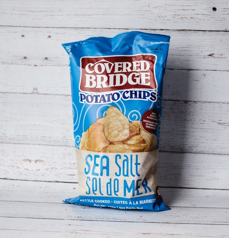 Chips Sel de mer Covered Bridge 170g
