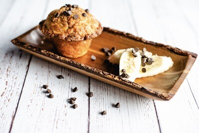 Muffin santé banane chocolat (1)