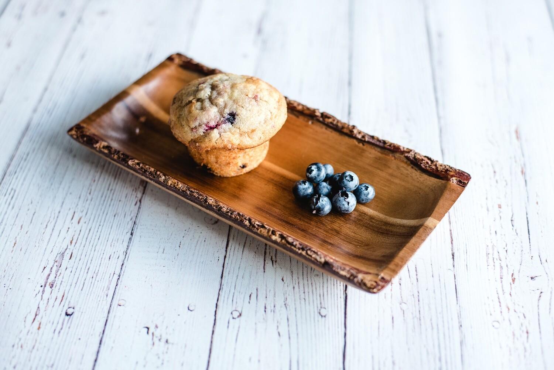 Muffins santé aux bleuets (6)