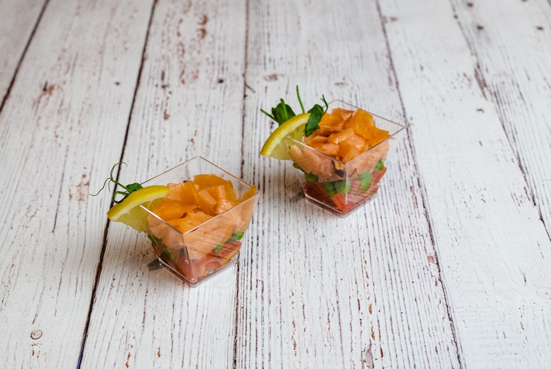 Verrine tartare de saumon (1)