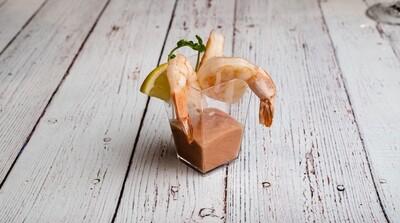 Verrine cocktail de crevettes