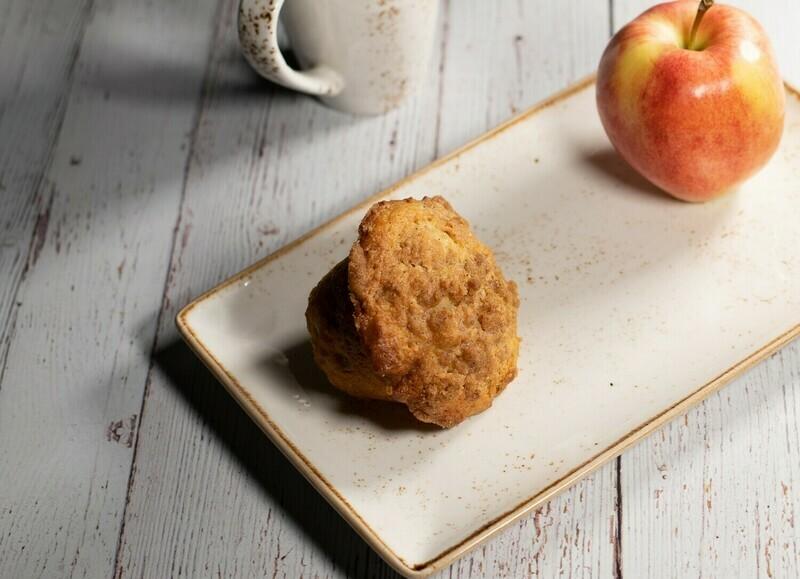 Muffins santé aux pommes (6)