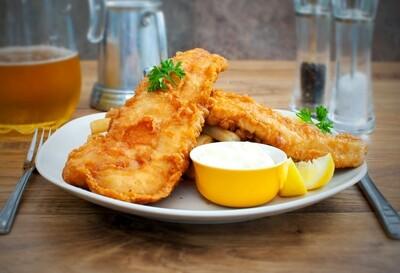 Fish & Chips avec wedges
