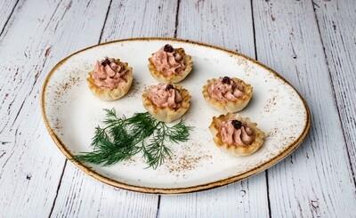 Canapés mousse au saumon (3)