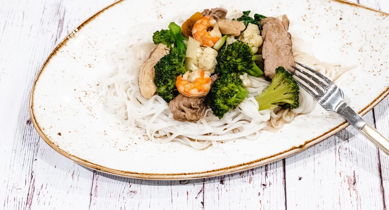 Chow mein cantonais