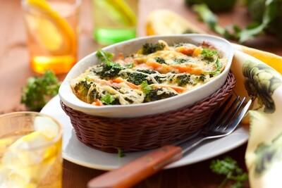 Légumes gratinés