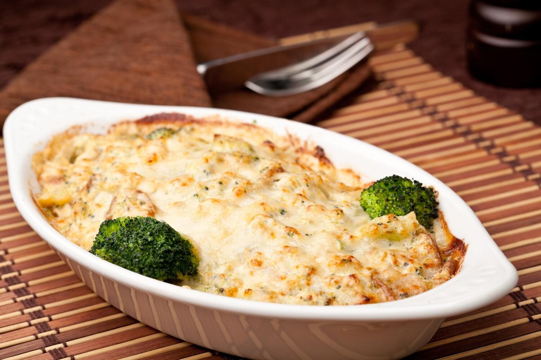 Lasagne au poulet et au brocoli