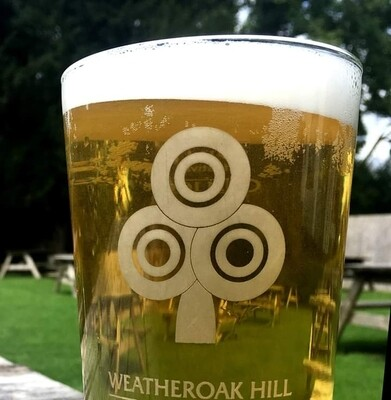 WHB Pint Glass
