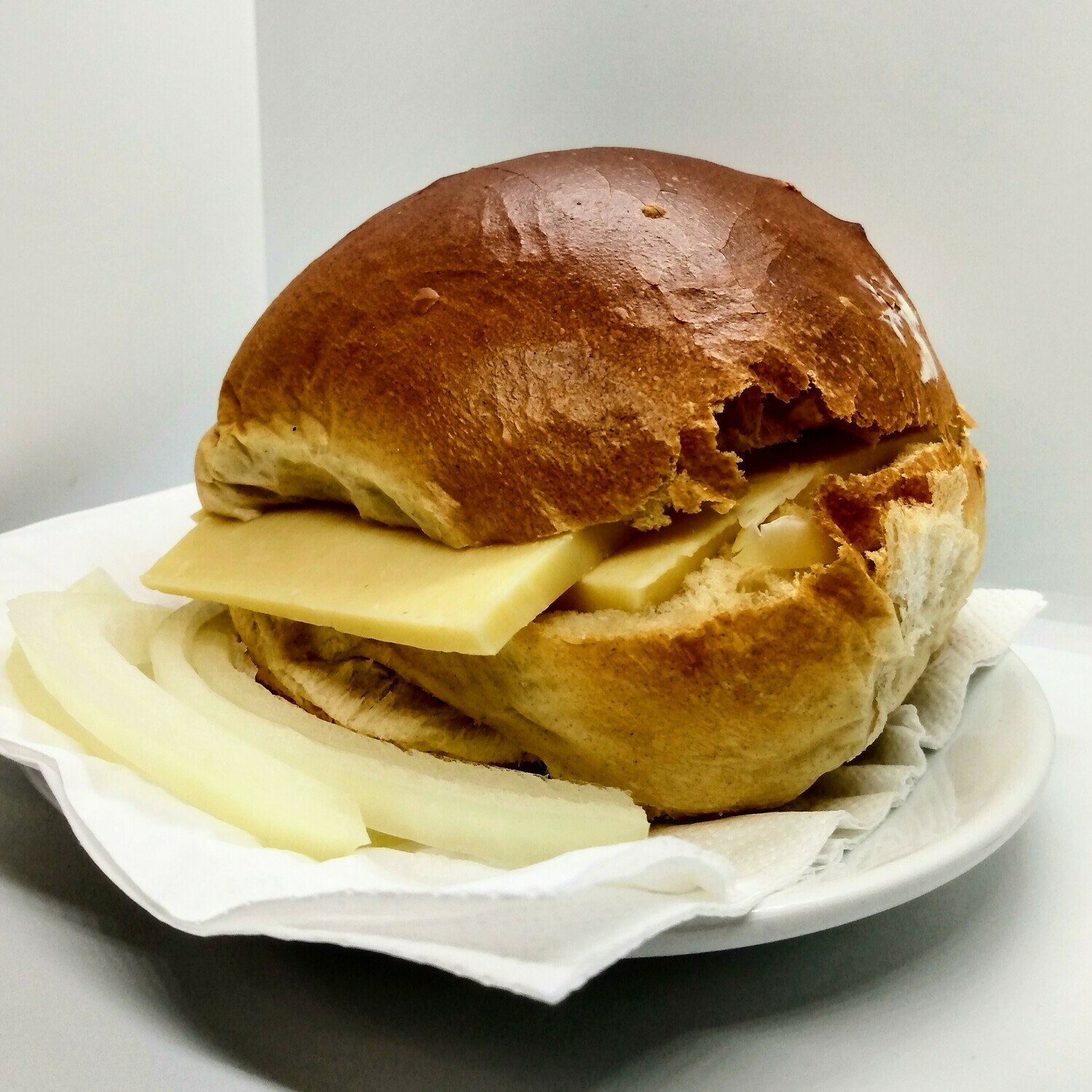 Our Famous Crusty Cob (Ham or Cheese)