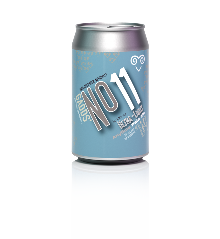 GADDS' No 11 Ultra Light Anytime Pale Ale - single can PICK'N'MIX