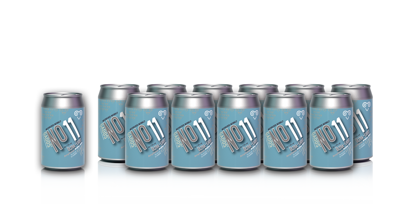 GADDS' No 11 Ultra Light Anytime Pale Ale x12 cans - NEW STOCK FROM 22nd March