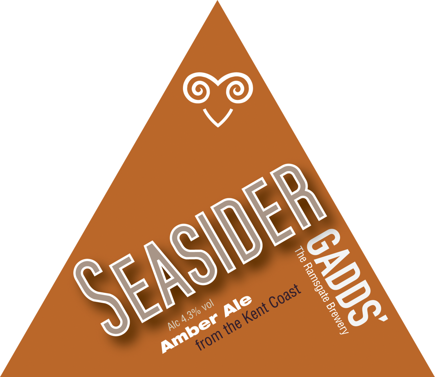 GADDS' Draught Seasider  Available in 4-pint bag, 10 litre and 20 litre bag-in-box