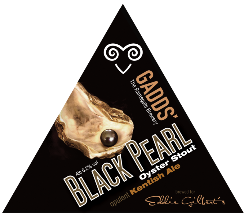 GADDS' Draught Black Pearl CASK  Available in 4-pint bag