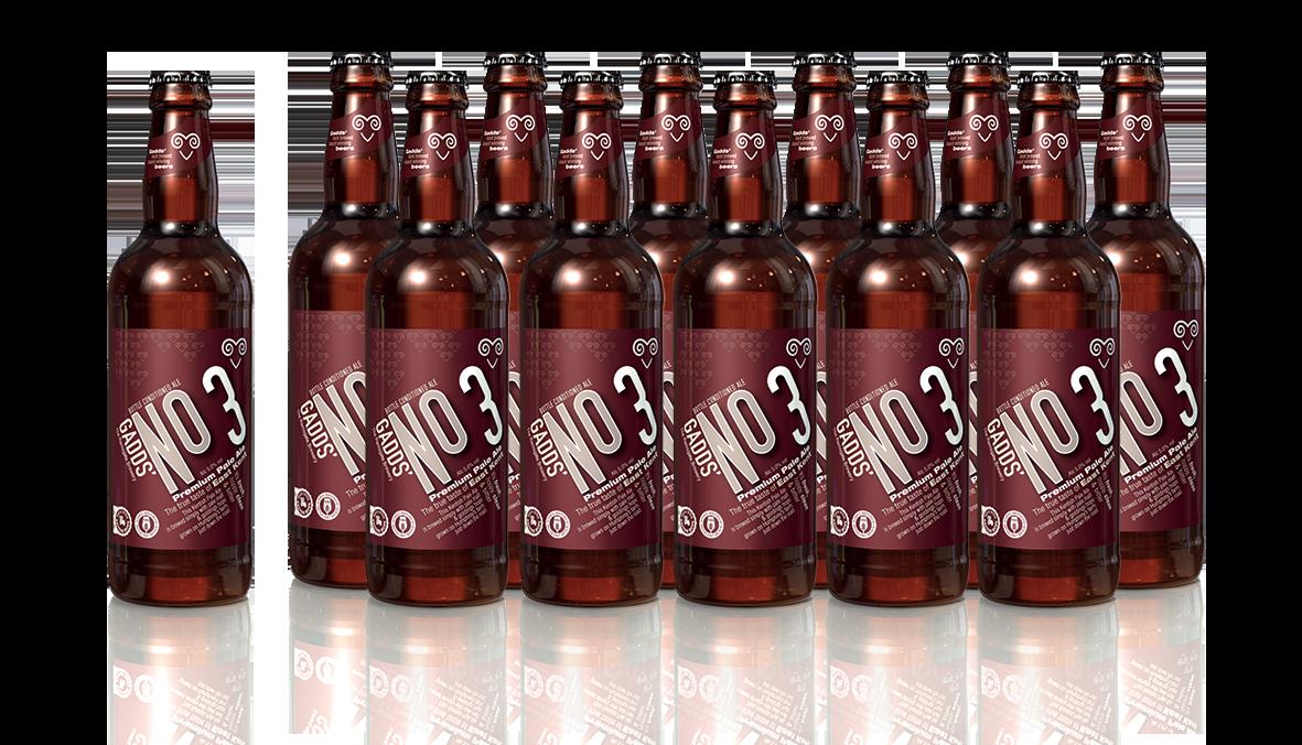 GADDS' No 3 -  x12 bottles - SUPER FRESH