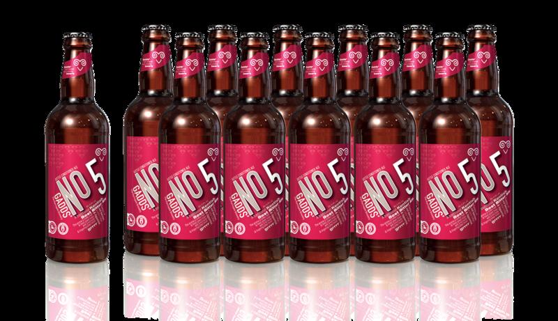 GADDS' No 5 -  x12 bottles SUPER FRESH