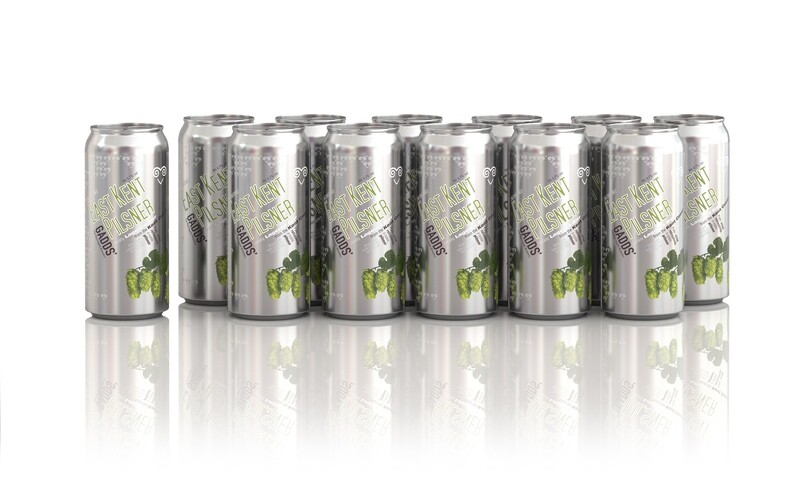 GADDS' East Kent Pilsner x 12 cans