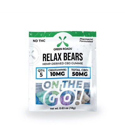 50MG RELAX BEARS - OTG