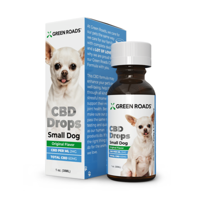 PET CBD DROPS SMALL DOG (CALL TO ORDER)