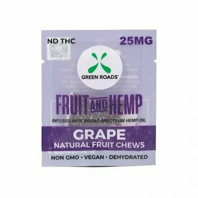 Green Roads Fruit & Hemp Chews (CALL TO ORDER)