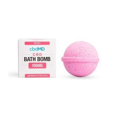 Bath Bomb Resist CBD-Lavender - 100mg (CALL TO ORDER)