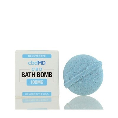 Bath Bomb Rejuvenate CBD Eucalyptus - 100mg (CALL TO ORDER)