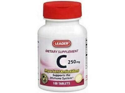 Vitamin C 250mg 100ct