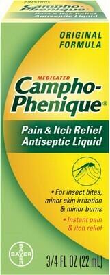 Campho Phenique Liq .75oz (22ml)