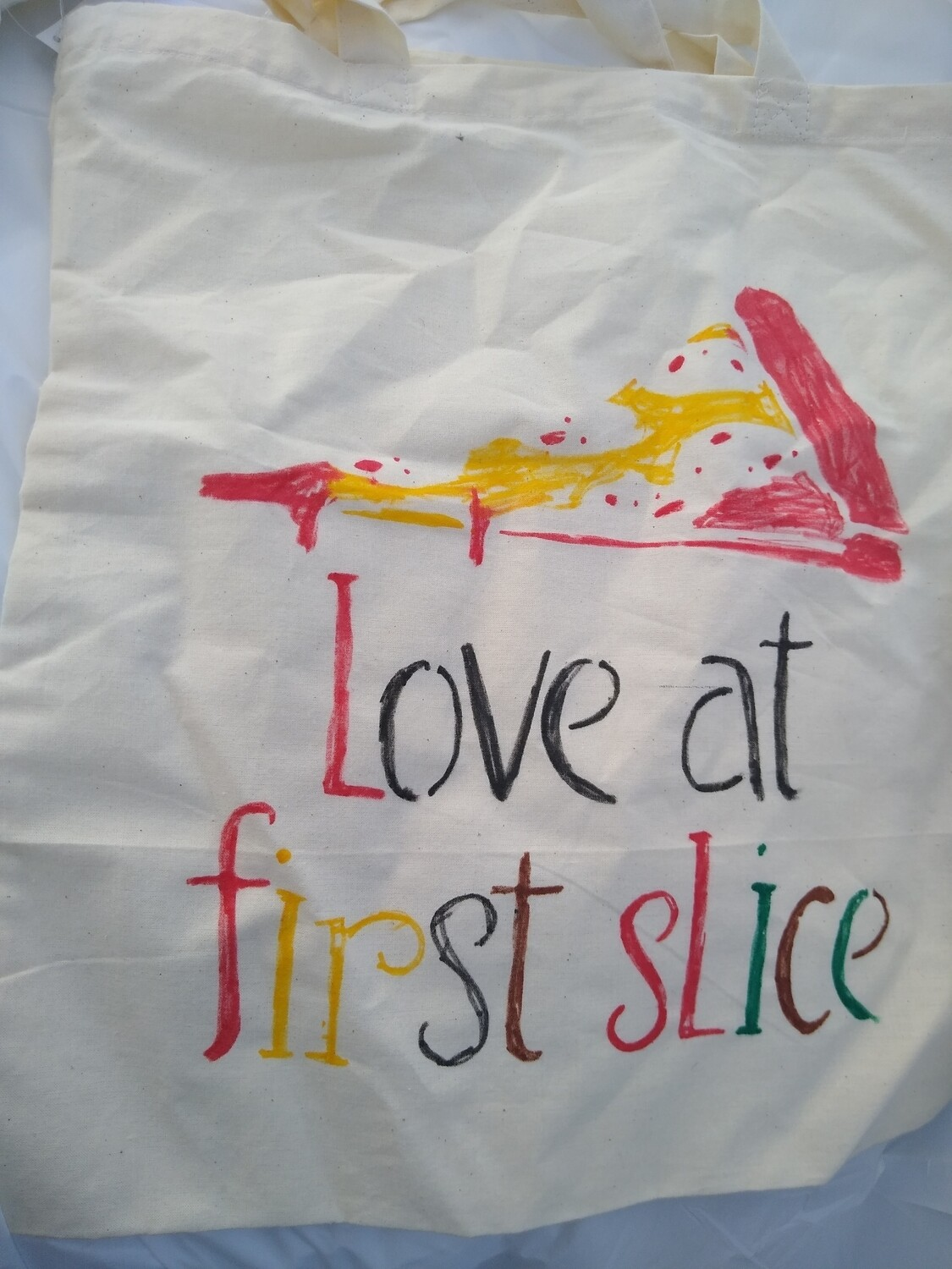 Pizza Light Weight Canvas Tote