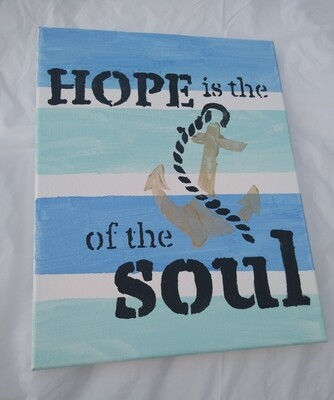 Hope is the ⚓