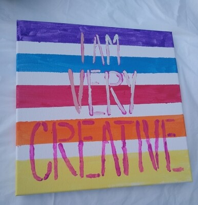 I Am Very Creative
