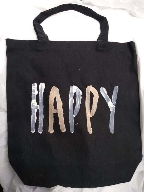 Happy Canvas Tote