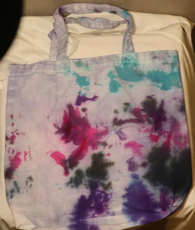 Tie Dye Colorful Tote Bag